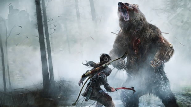 Rise of the Tomb Raider'e Yama Geldi