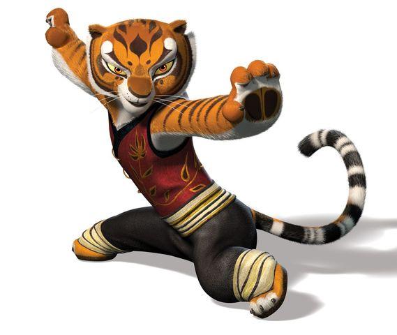 kung fu panda tigress - En İyi Animasyon Karakterleri Listesi - Top 12 - Figurex Sinema
