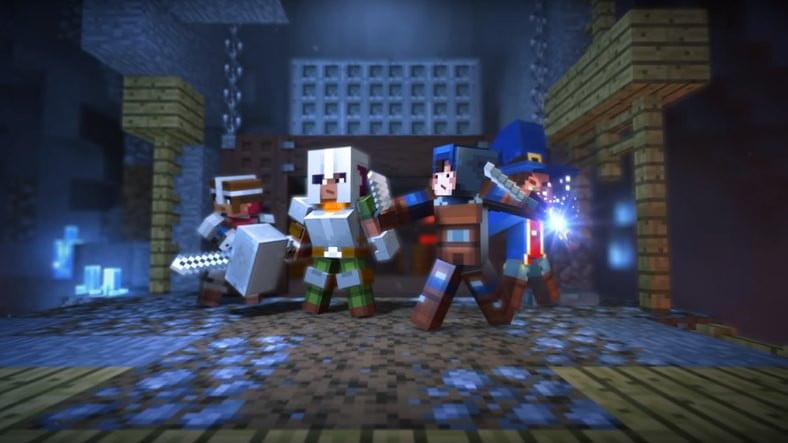 Minecarft:Dungeons Çıkıyor