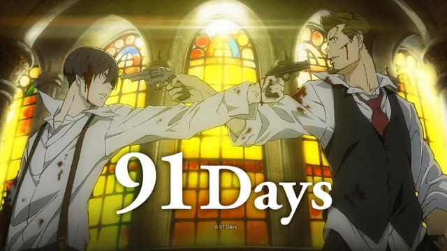 91 days - Karantinada İzlemeniz İçin Anime Önerileri - Figurex Anime Önerileri