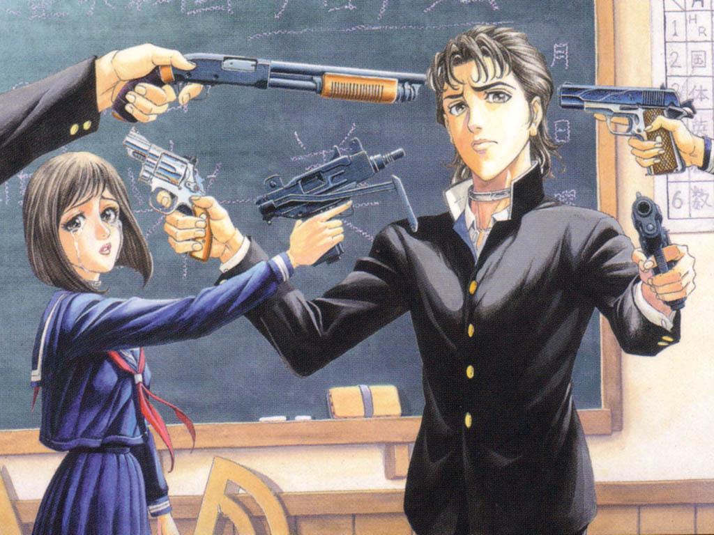 Battle Royale 2 - Animesi Yapılmayarak Haksızlık Edilmiş 15 Aksiyon Manga Önerisi - Figurex Listeler