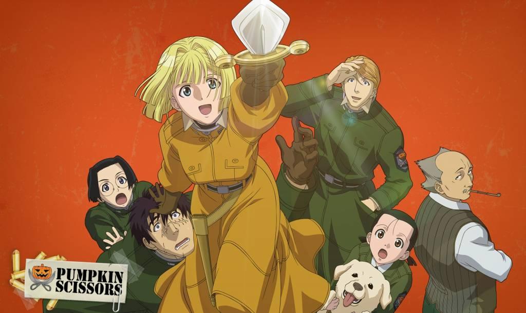 Pumpkin Scissors - Askeriye/Ordu Konulu Anime Önerileri - Figurex Anime Önerileri