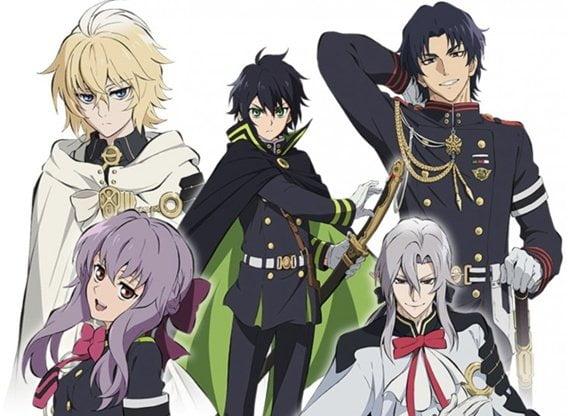 owari no seraph - Askeriye/Ordu Konulu Anime Önerileri - Figurex Anime Önerileri