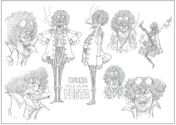 One Piece Stampede Buena Festa