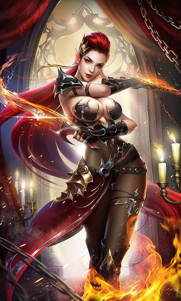 Alev Kızıl - Kızıl Krallığın Prensesi