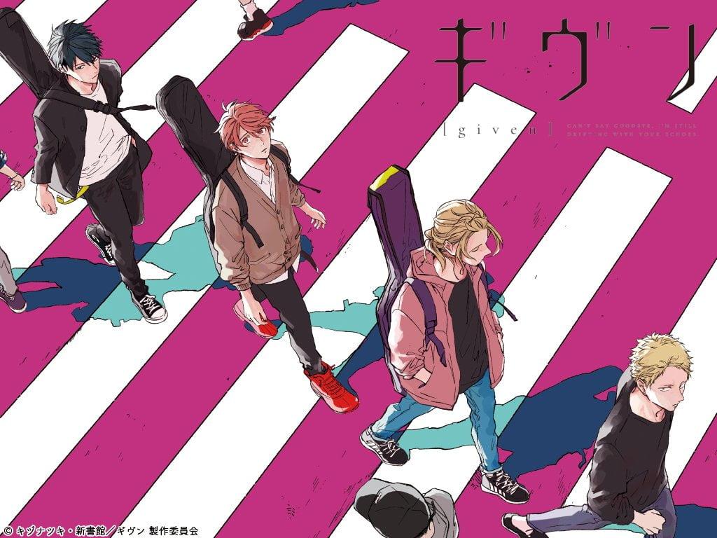 given anime - Given Tanıtım ve İnceleme - Figurex Anime Tanıtımları