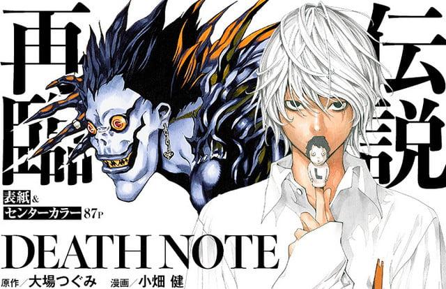 Yeni Death Note Manga