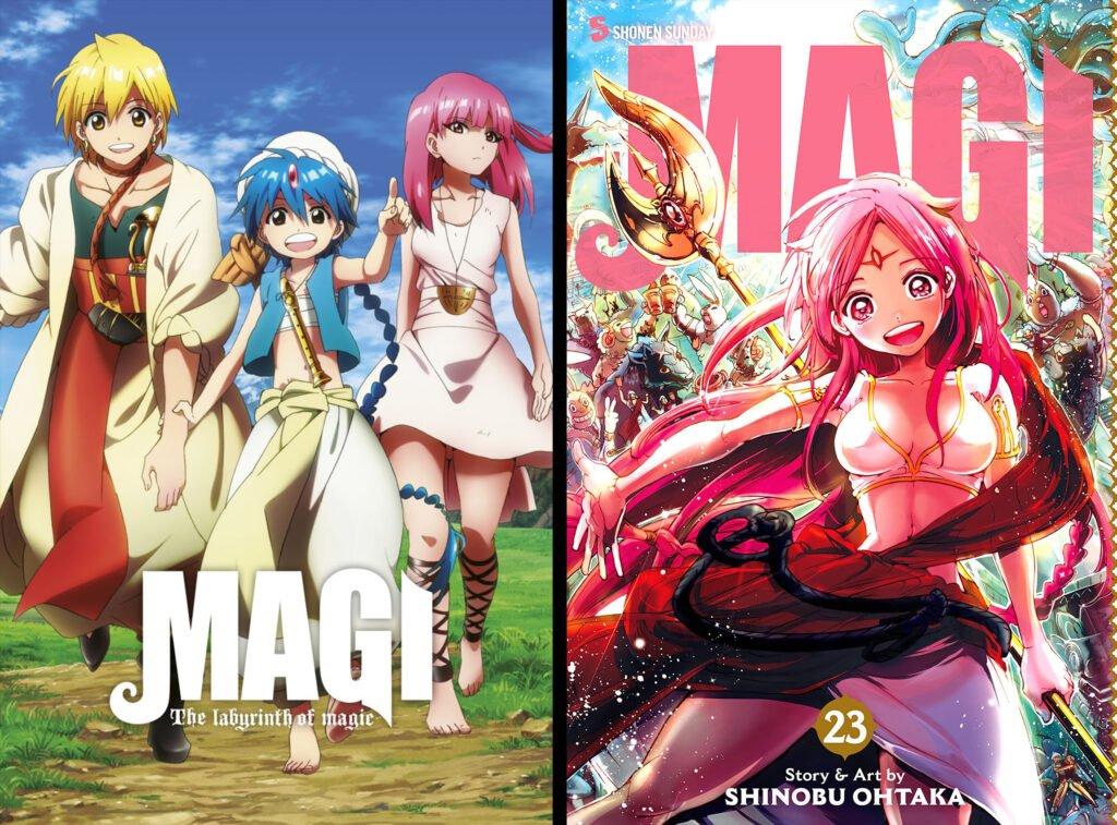 12 Magi The Labyrinth of Magic - Animeden Sonra Devam Edilmesi Gereken Mangalar - Figurex Listeler