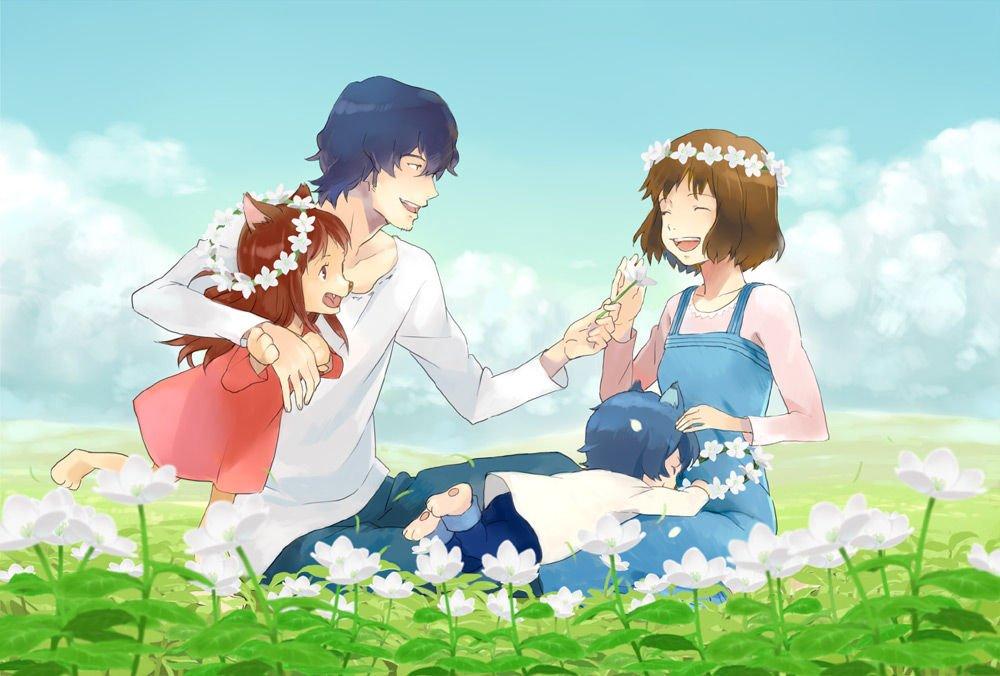 1484967773 b0bbeee87e832168b8a1c4b679e11691 - Ookami Kodomo No Ame To Yuki Tanıtım ve İnceleme - Figurex Anime Tanıtımları