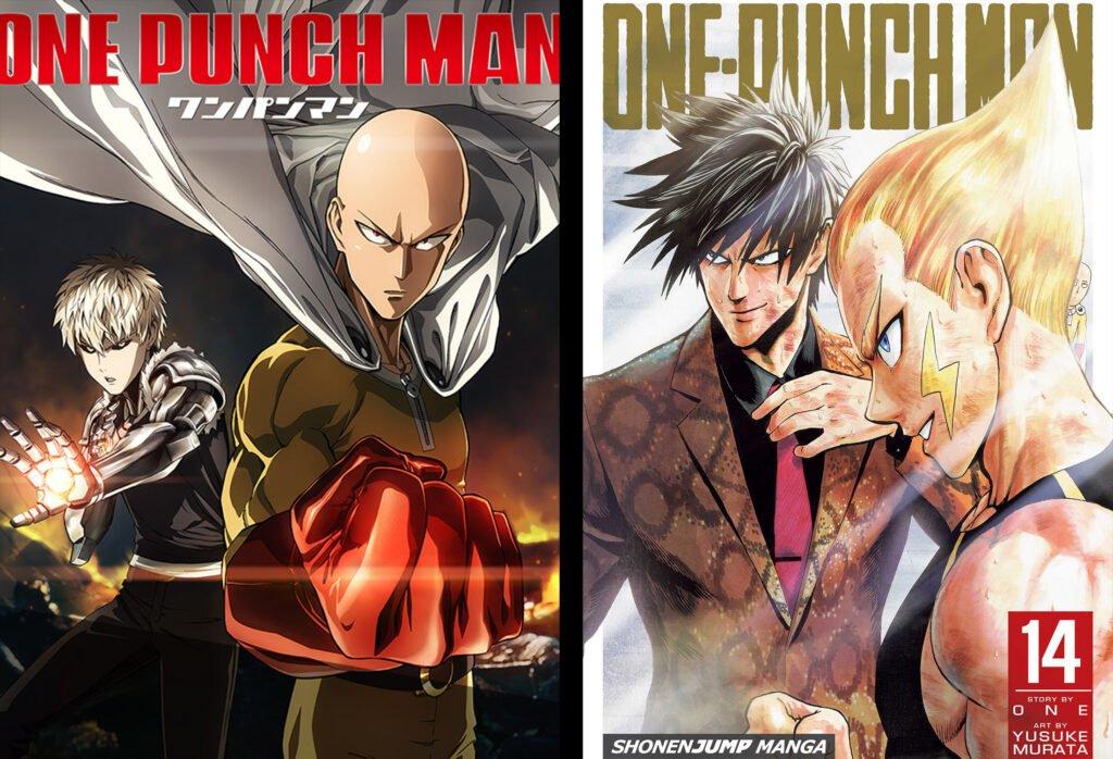 16 One Punch Man - Animeden Sonra Devam Edilmesi Gereken Mangalar - Figurex Listeler