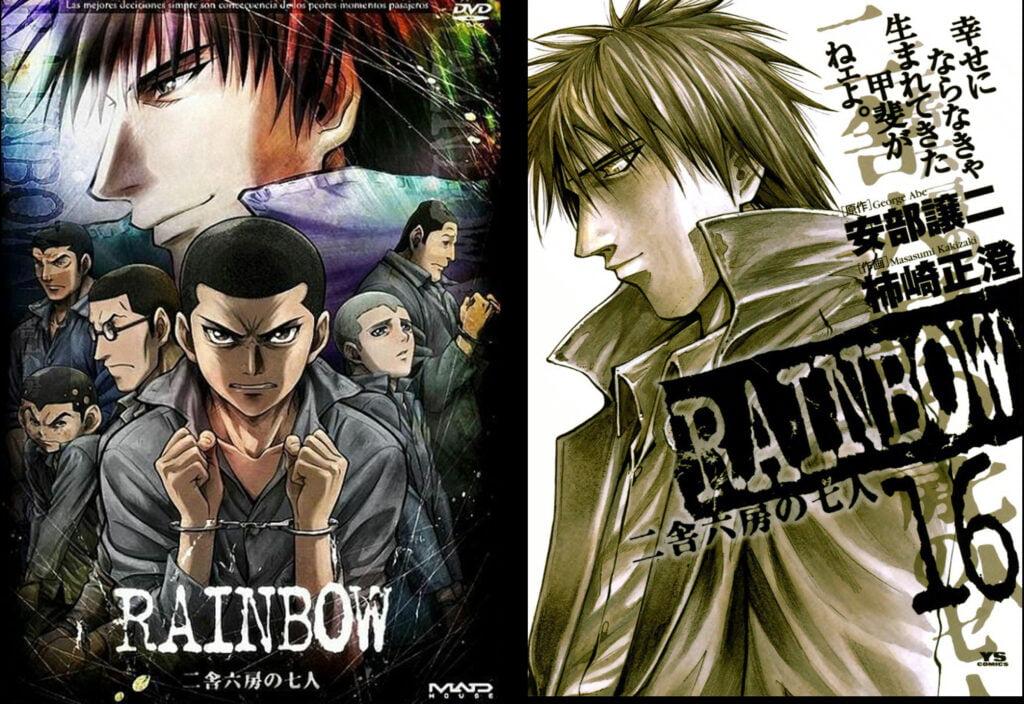18 Rainbow Nisha Rokubou No Shichinin - Animeden Sonra Devam Edilmesi Gereken Mangalar - Figurex Listeler