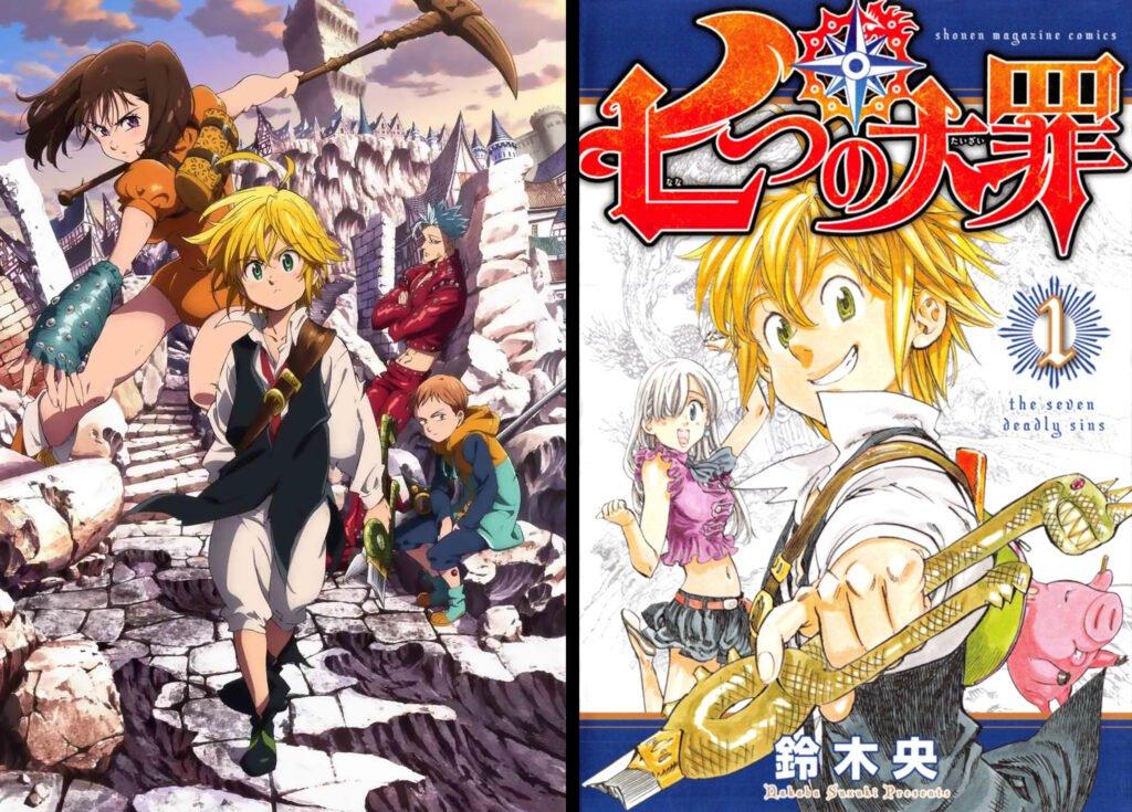 19 Nanatsu no Taizai - Animeden Sonra Devam Edilmesi Gereken Mangalar - Figurex Listeler