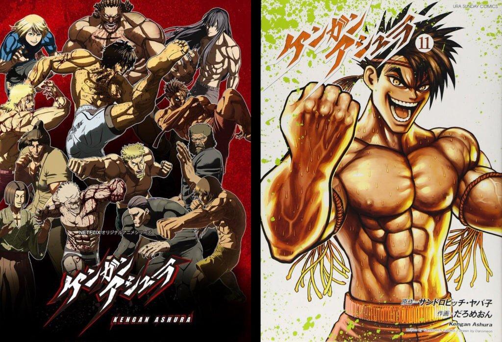 2 Kengan Ashura - Animeden Sonra Devam Edilmesi Gereken Mangalar - Figurex Listeler