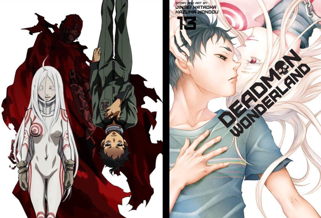 20 Deadman Wonderland - Animeden Sonra Devam Edilmesi Gereken Mangalar - Figurex Listeler