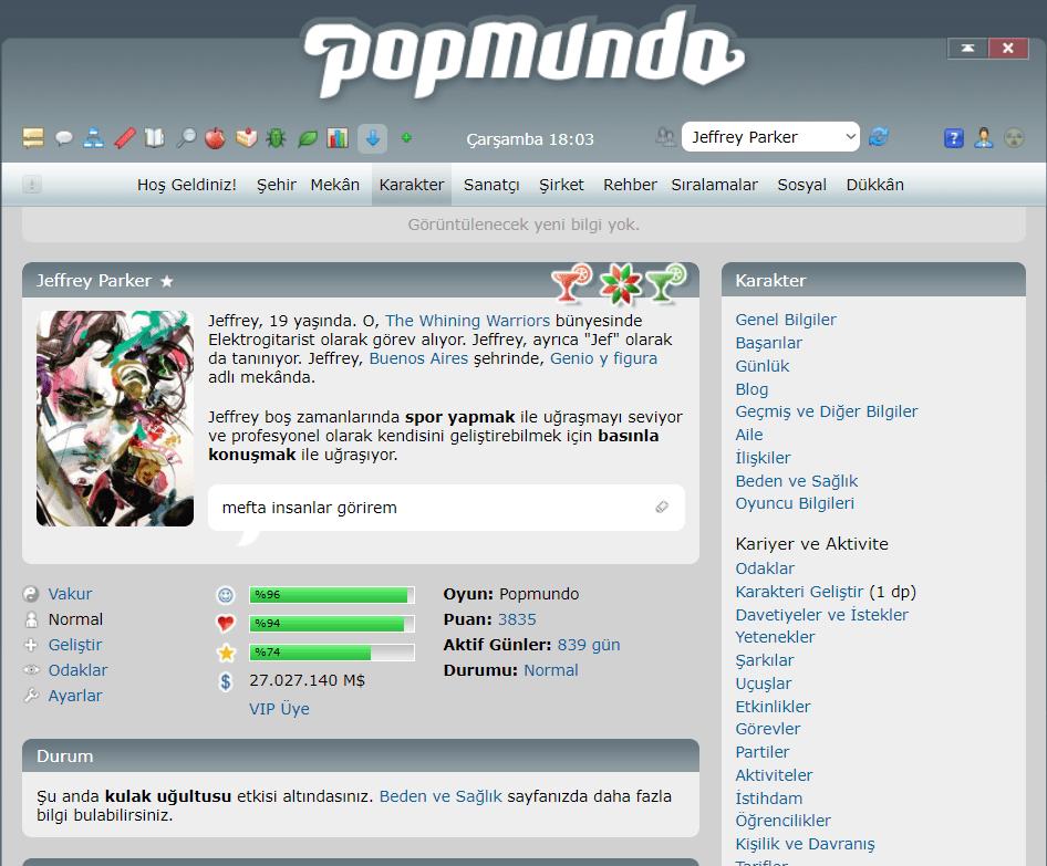popmundo 2 - Popmundo, İkinci Dünya! - Figurex Oyun Önerileri