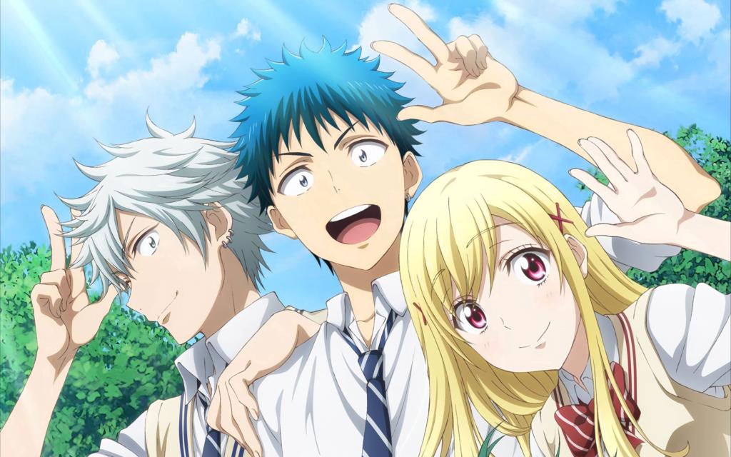 1 Yamada kun to 7 nin no Majo - Okul Anime Önerileri Mega Liste - Figurex Anime Önerileri