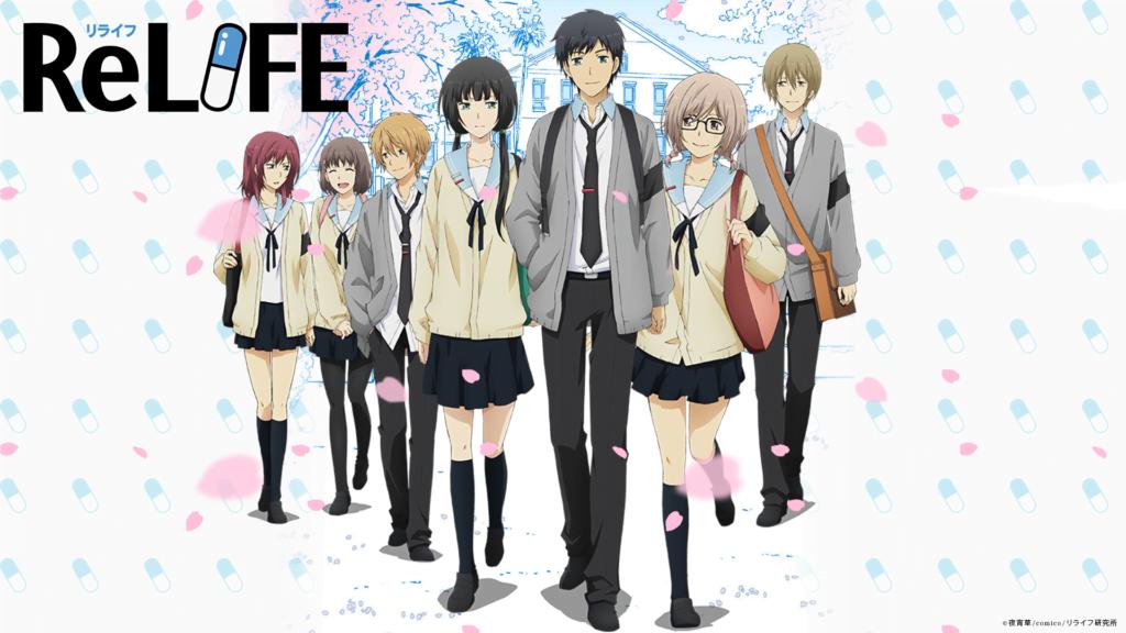 21 ReLife - Okul Anime Önerileri Mega Liste - Figurex Anime Önerileri