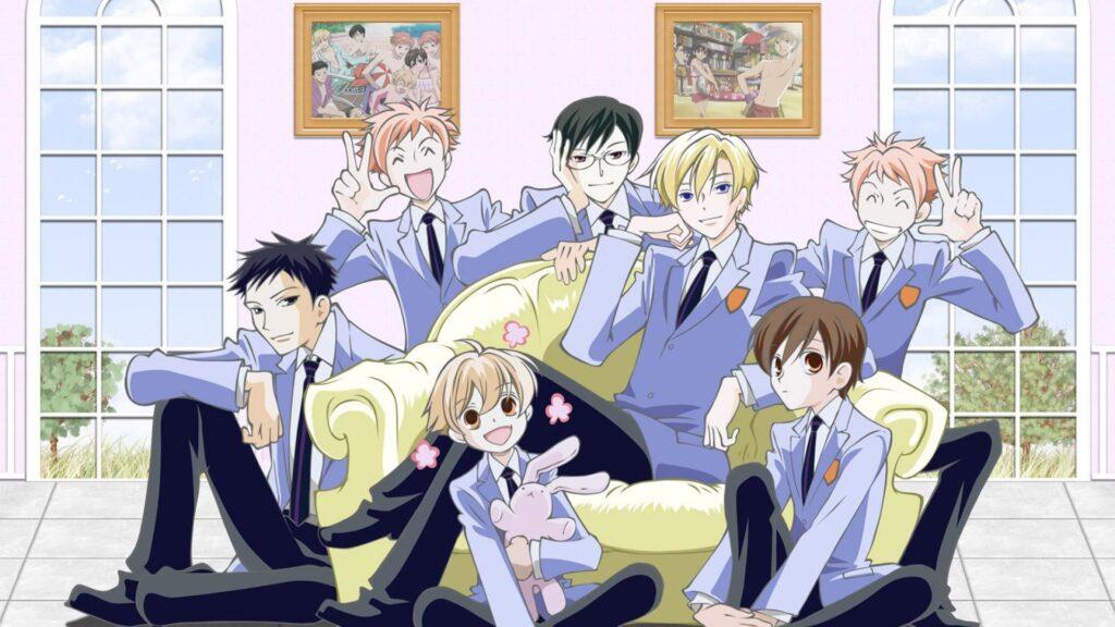 22 Ouran Highschool Host Club - Okul Anime Önerileri Mega Liste - Figurex Anime Önerileri