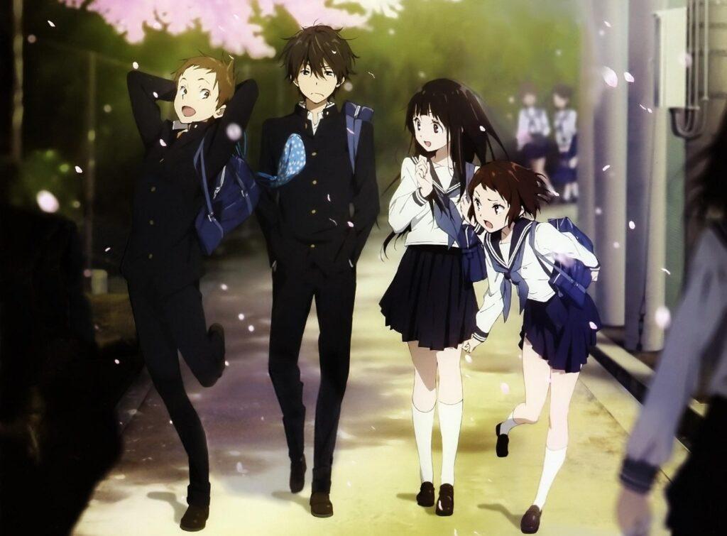 31 Hyouka - Okul Anime Önerileri Mega Liste - Figurex Anime Önerileri