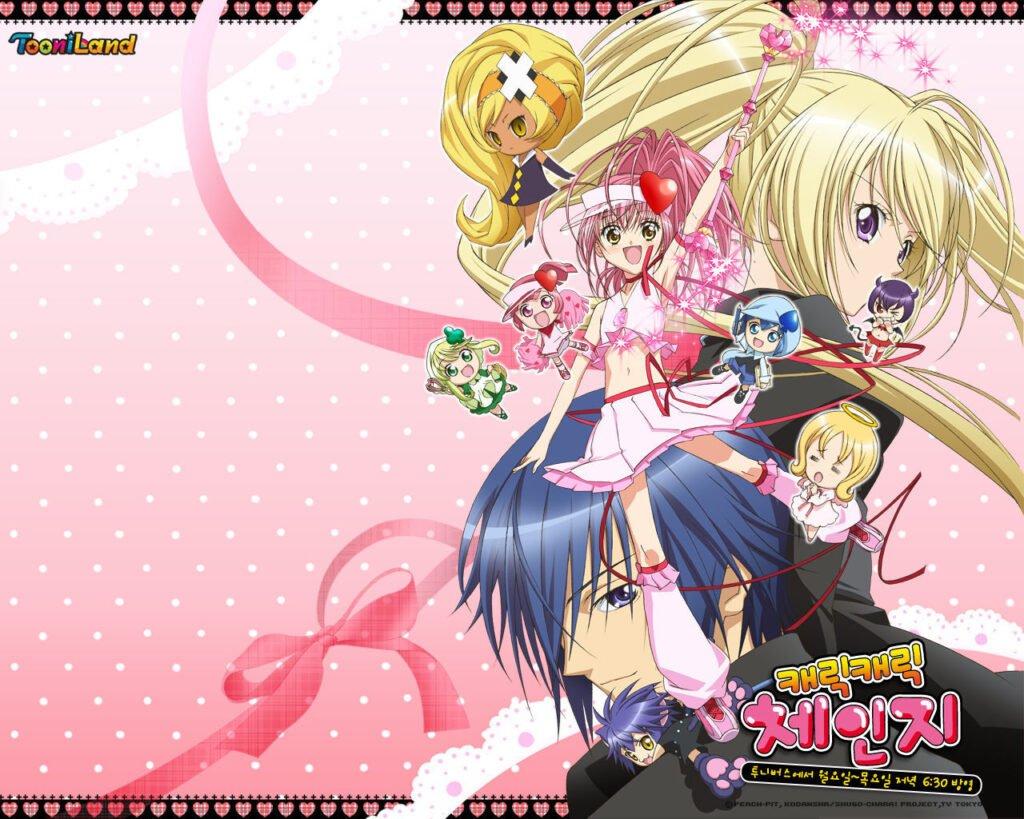 33 Shugo Chara - Okul Anime Önerileri Mega Liste - Figurex Anime Önerileri