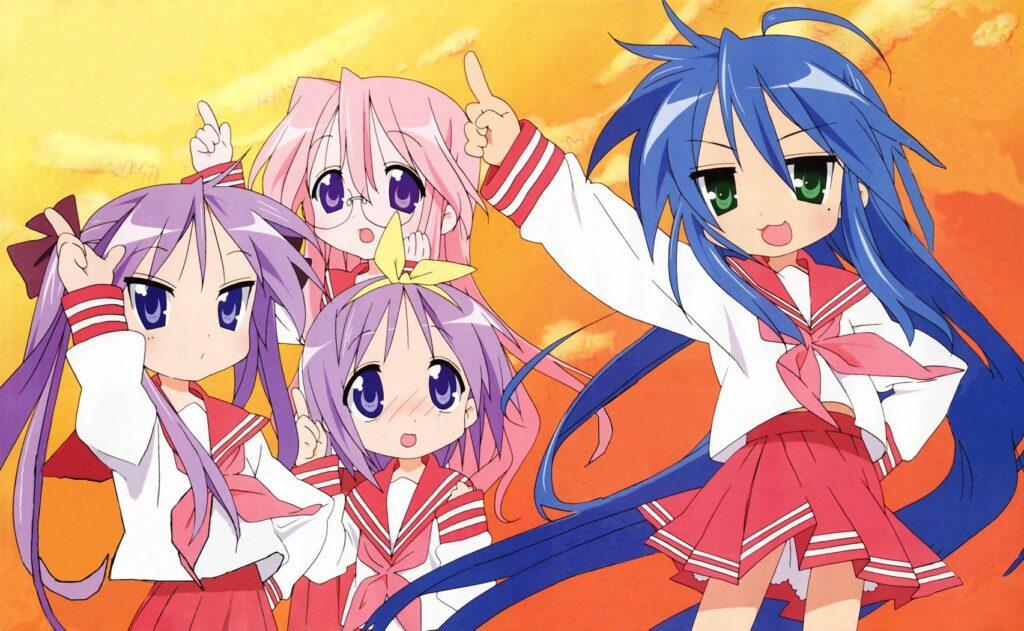 34 Lucky Star - Okul Anime Önerileri Mega Liste - Figurex Anime Önerileri