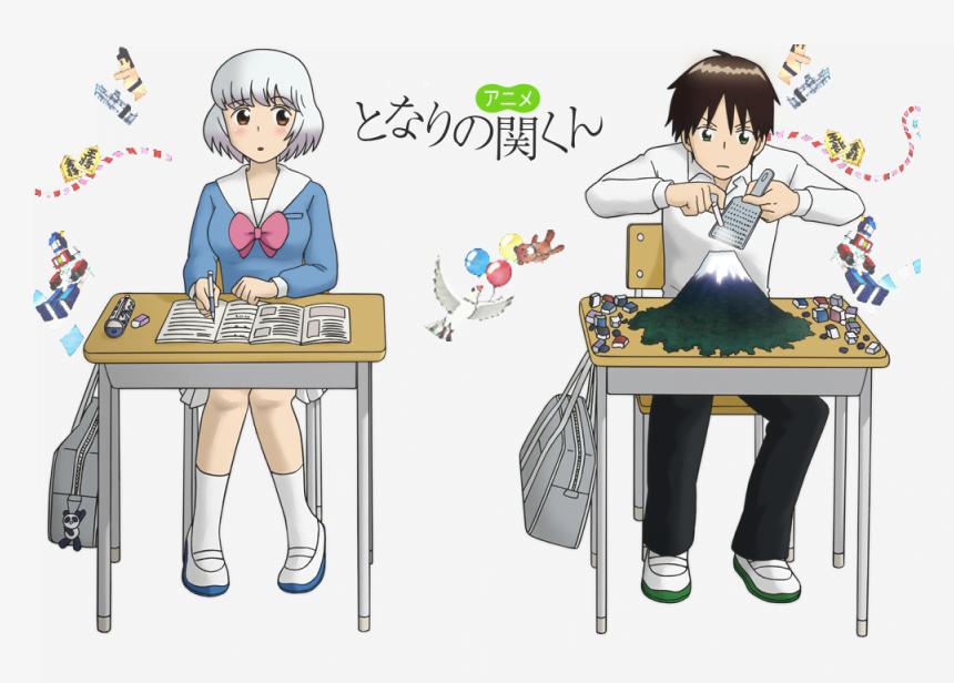 35 Tonari no Seki kun - Okul Anime Önerileri Mega Liste - Figurex Anime Önerileri