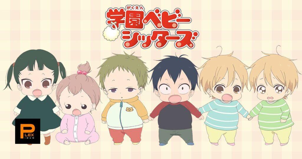 37 Gakuen Babysitt - Okul Anime Önerileri Mega Liste - Figurex Anime Önerileri