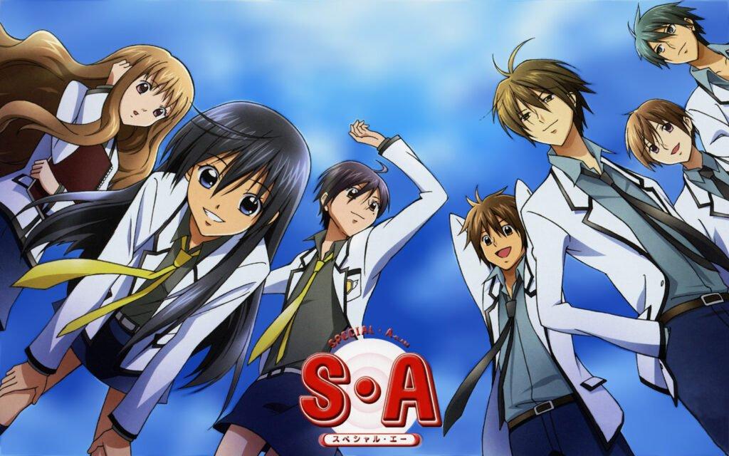 38 Special A - Okul Anime Önerileri Mega Liste - Figurex Anime Önerileri