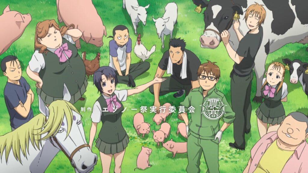 41 Gin no Saji - Okul Anime Önerileri Mega Liste - Figurex Anime Önerileri