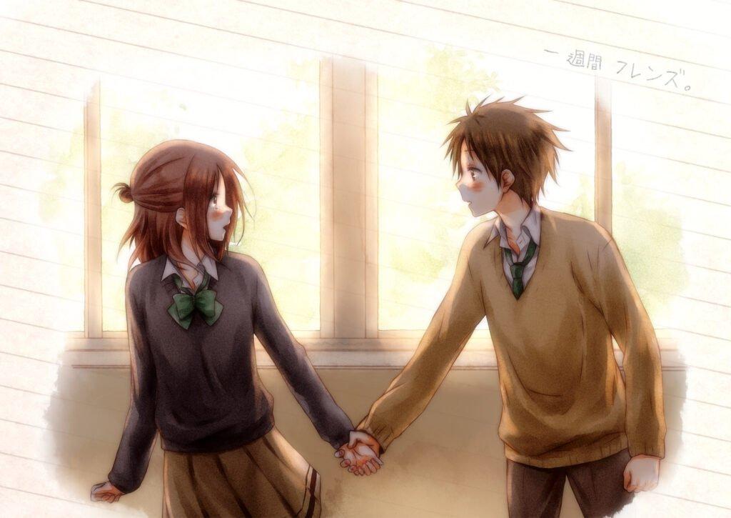 47 Isshuukan Friends - Okul Anime Önerileri Mega Liste - Figurex Anime Önerileri