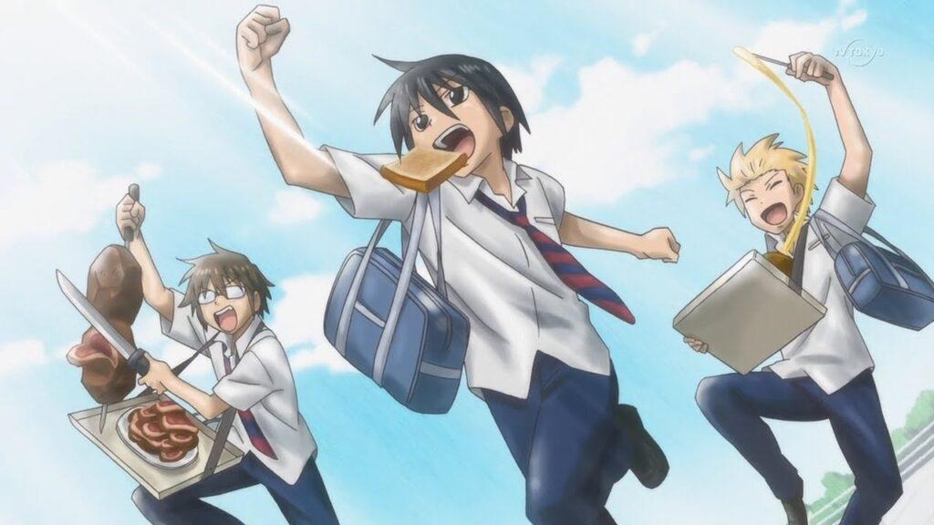 51 Danshi Koukousei no Nichijou - Okul Anime Önerileri Mega Liste - Figurex Anime Önerileri