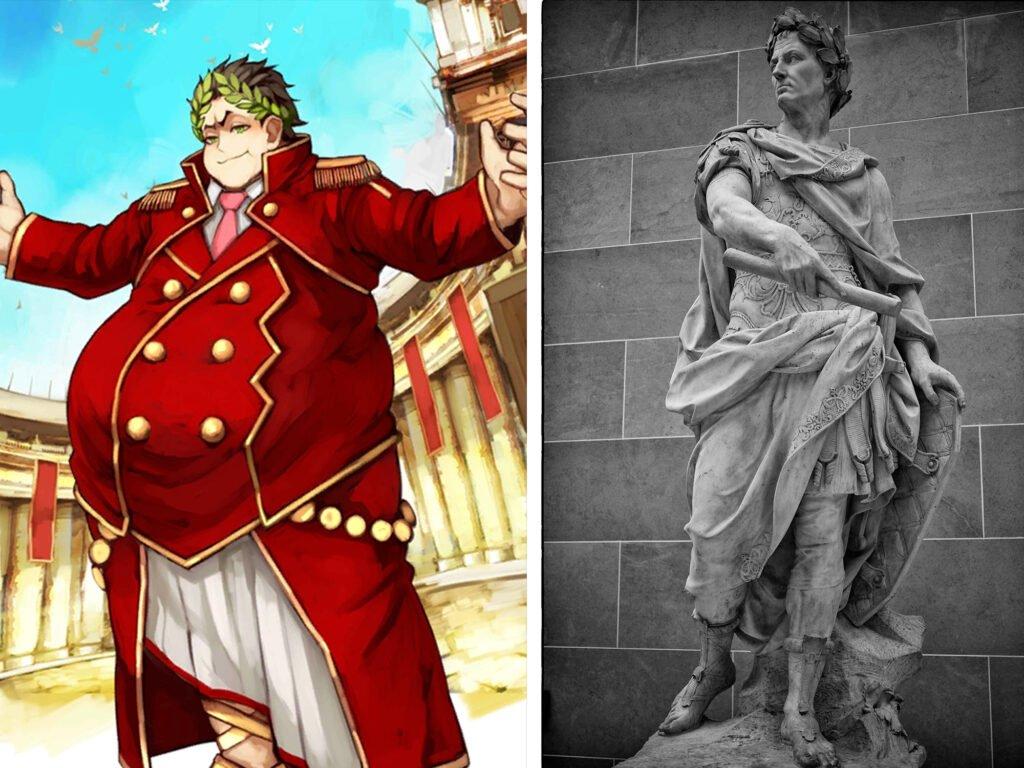 Gaius Julius Caesar - Fate/Grand Order Saber Sınıfındakilerin Gerçek Hikayeleri - Figurex Ne? Nedir?