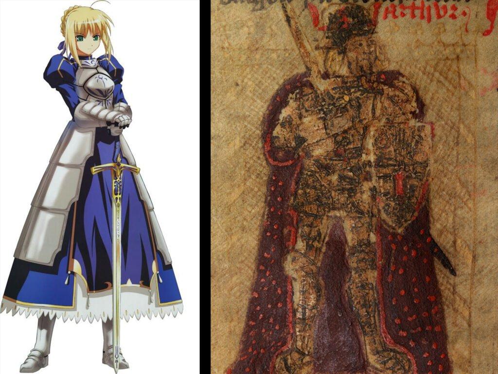 King Arthur - Fate/Grand Order Saber Sınıfındakilerin Gerçek Hikayeleri - Figurex Ne? Nedir?