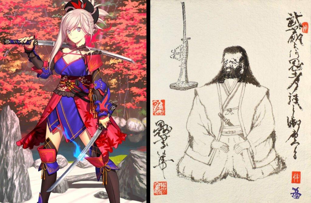 Miyamoto Musashi - Fate/Grand Order Saber Sınıfındakilerin Gerçek Hikayeleri - Figurex Ne? Nedir?