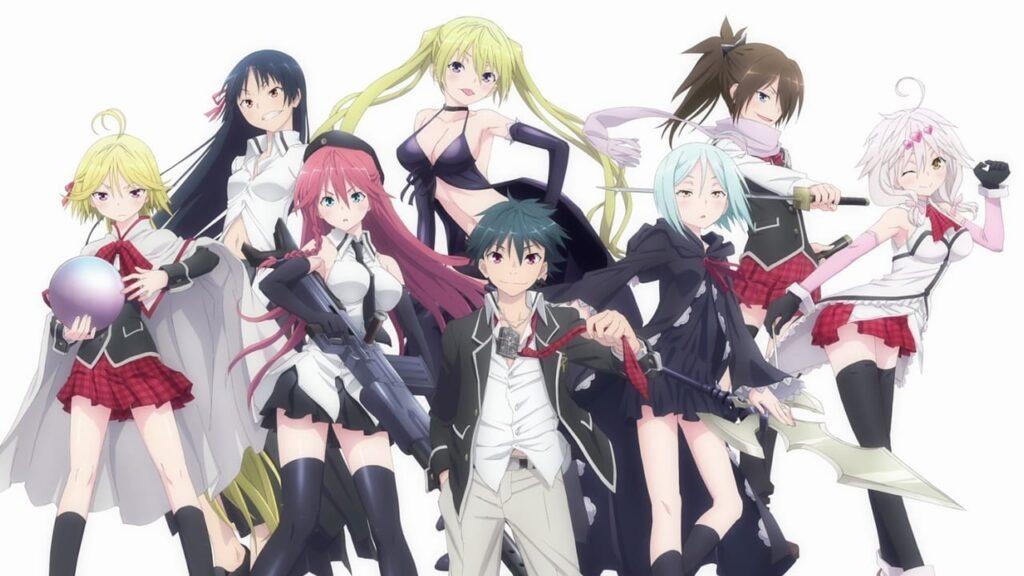 trinity seven - Ecchi Anime Önerileri Mega Liste (50 Anime) - Figurex Anime Önerileri