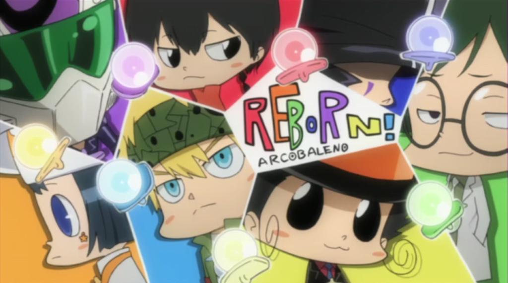 Infant Arcobaleno - Katekyo Hitman Reborn Anime Tanıtım ve İnceleme - Figurex Anime Tanıtımları