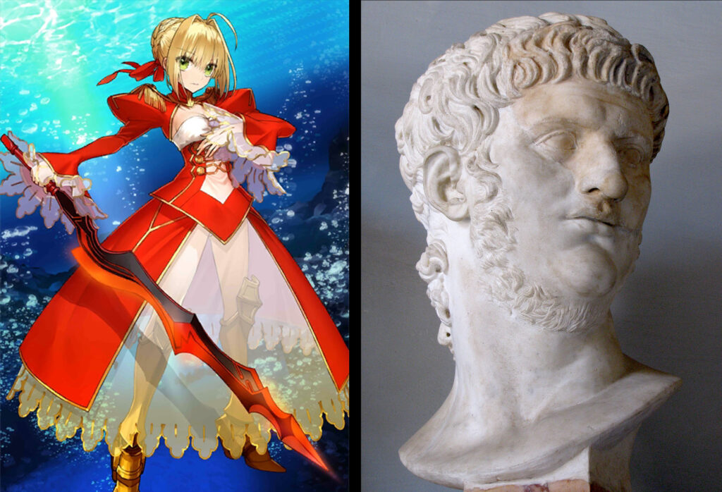 Nero Claudius Caesar - Fate/Grand Order Saber Sınıfındakilerin Gerçek Hikayeleri - Figurex Ne? Nedir?
