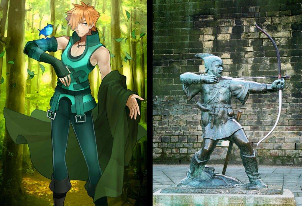 Robin Hood - Fate/Grand Order Archer Sınıfındakilerin Gerçek Hikayeleri - Figurex Ne? Nedir?