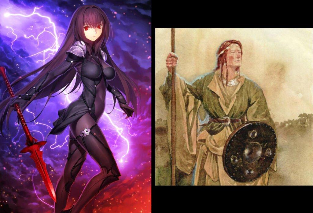 Scathach - Fate/Grand Order Lancer Sınıfındakilerin Gerçek Hikayeleri - Figurex Ne? Nedir?