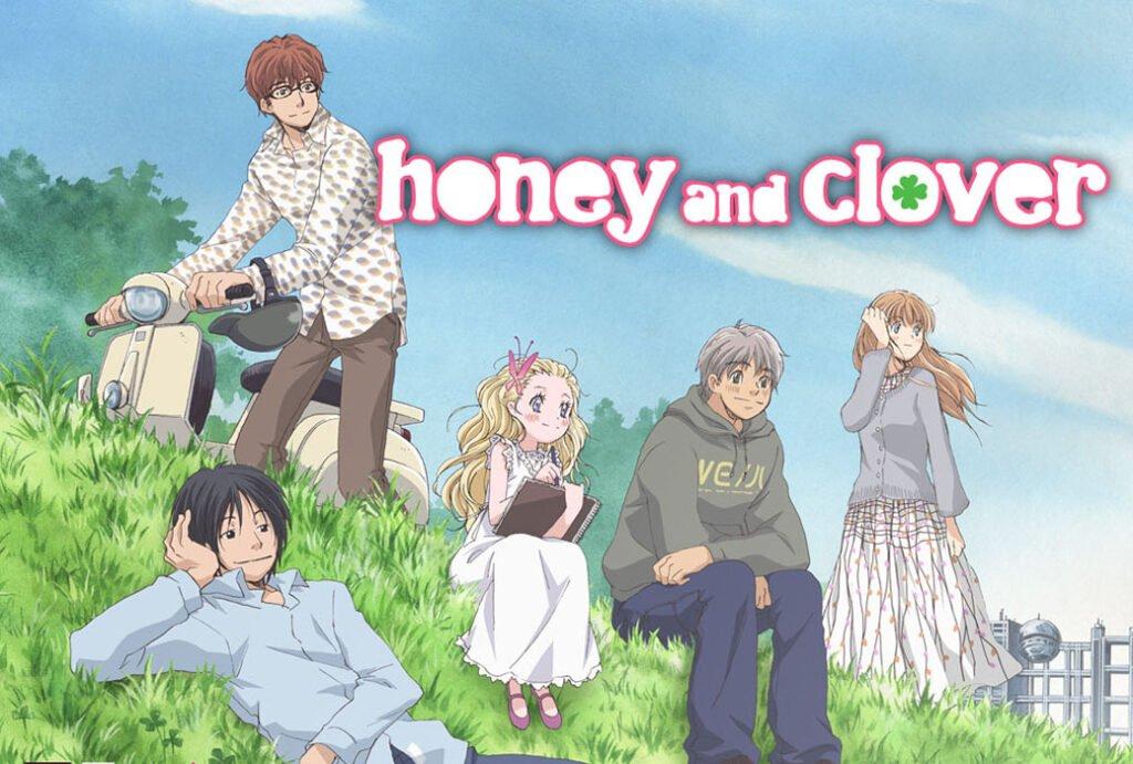 honey and clover featured - Hikayesi Tamamlanan Anime Önerileri ( Manga İle Birlikte ) - Figurex Anime Önerileri