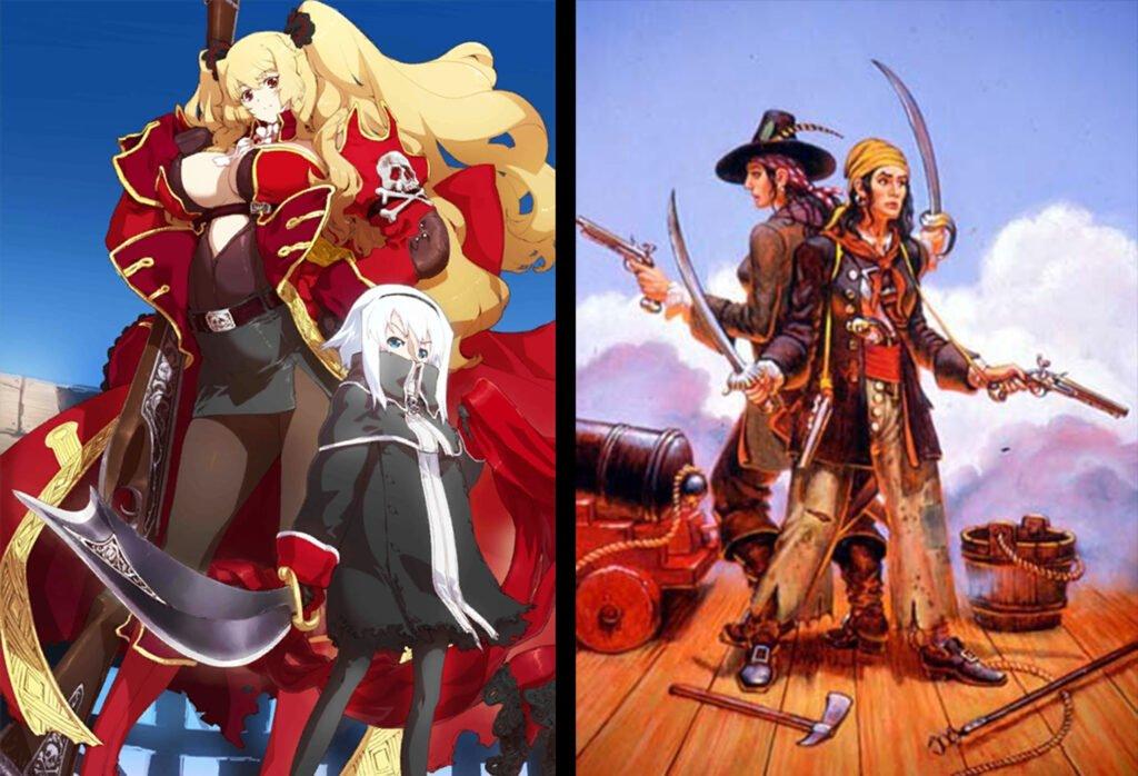 Anne Bonny Mary Read - Fate/Grand Order Rider Sınıfındakilerin Gerçek Hikayeleri - Figurex Ne? Nedir?