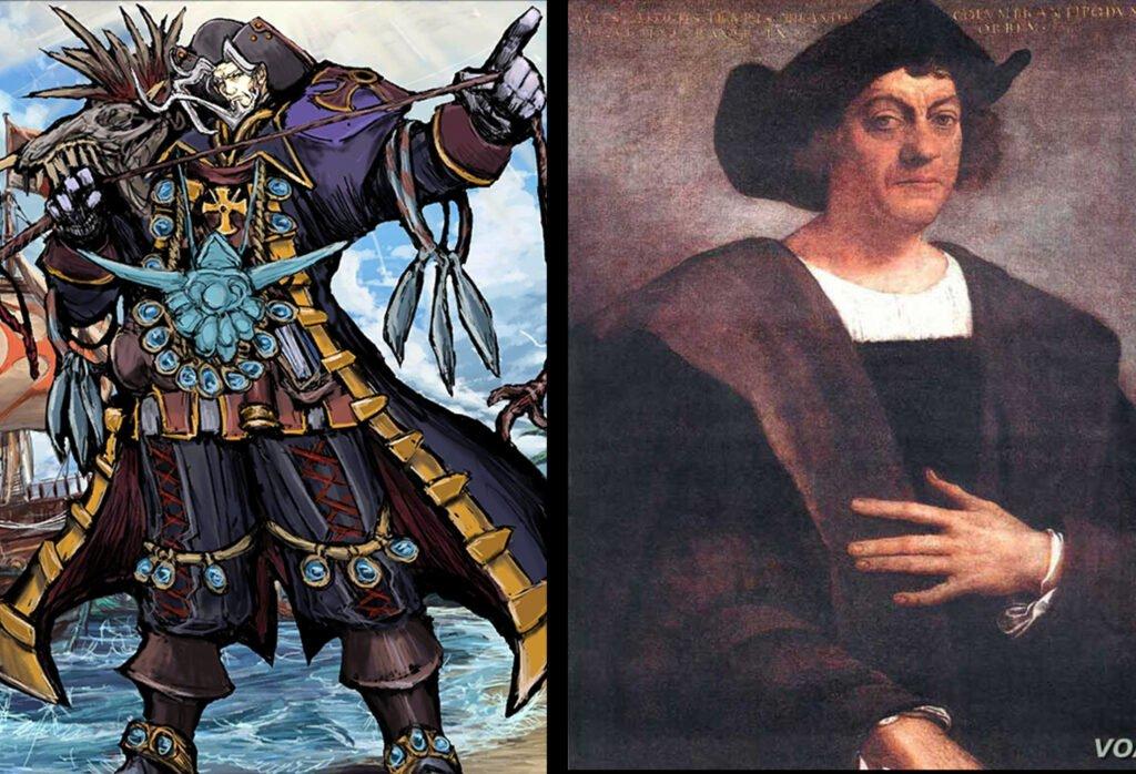 Christopher Columbus - Fate/Grand Order Rider Sınıfındakilerin Gerçek Hikayeleri - Figurex Ne? Nedir?