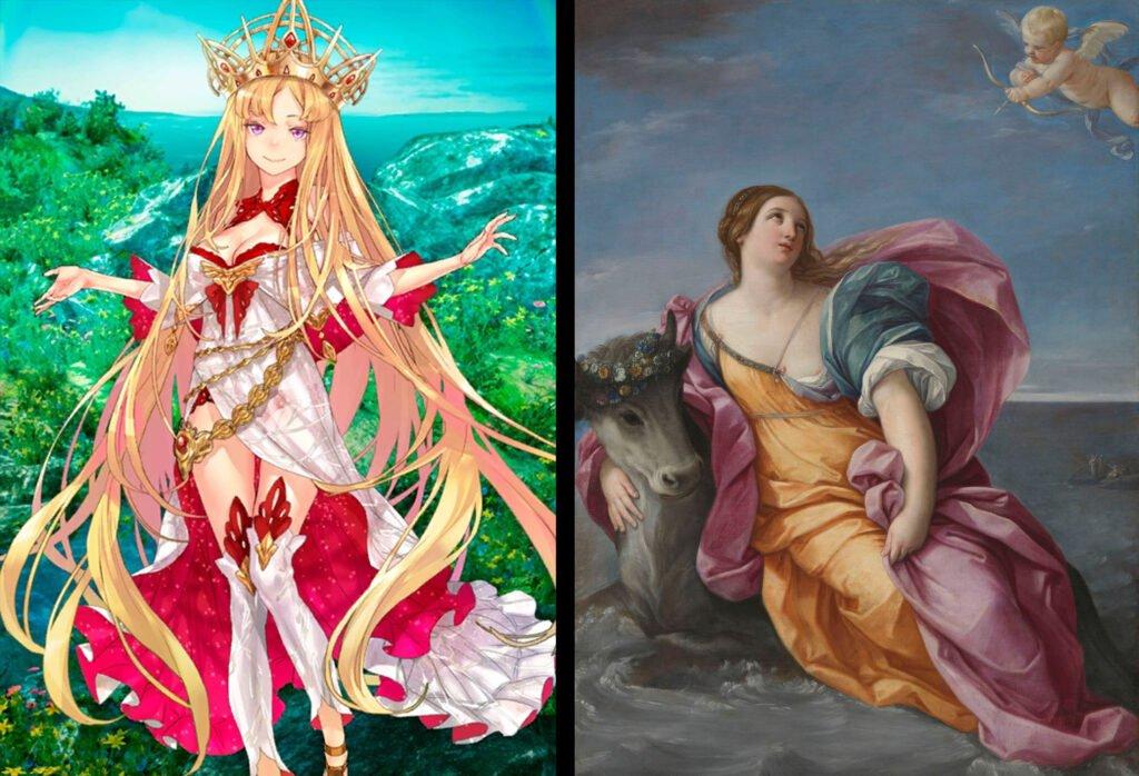 Europa - Fate/Grand Order Rider Sınıfındakilerin Gerçek Hikayeleri - Figurex Ne? Nedir?