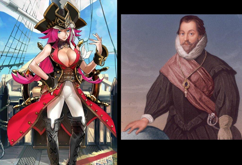 Francis Drake - Fate/Grand Order Rider Sınıfındakilerin Gerçek Hikayeleri - Figurex Ne? Nedir?