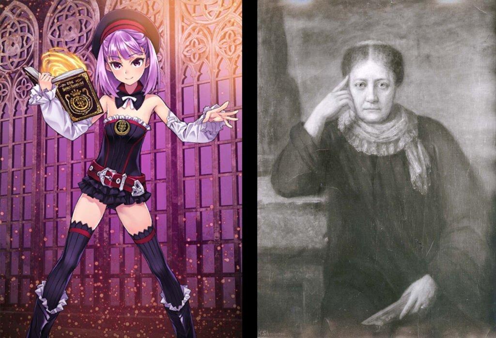 Helena Blavatsky - Fate/Grand Order Caster Sınıfı Karakterleri Gerçek Hikayeleri - Figurex Ne? Nedir?