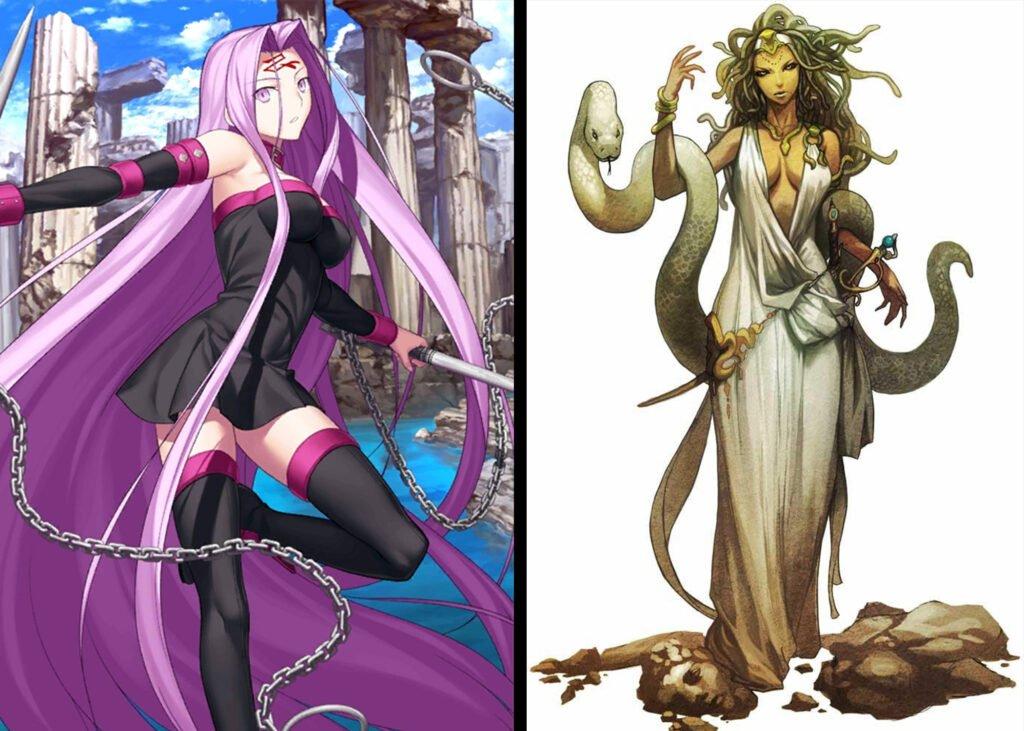 Medusa - Fate/Grand Order Rider Sınıfındakilerin Gerçek Hikayeleri - Figurex Ne? Nedir?