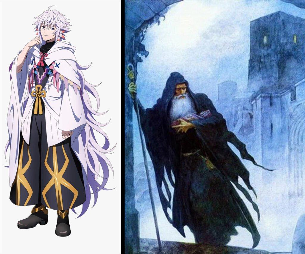 Merlin - Fate/Grand Order Caster Sınıfı Karakterleri Gerçek Hikayeleri - Figurex Ne? Nedir?