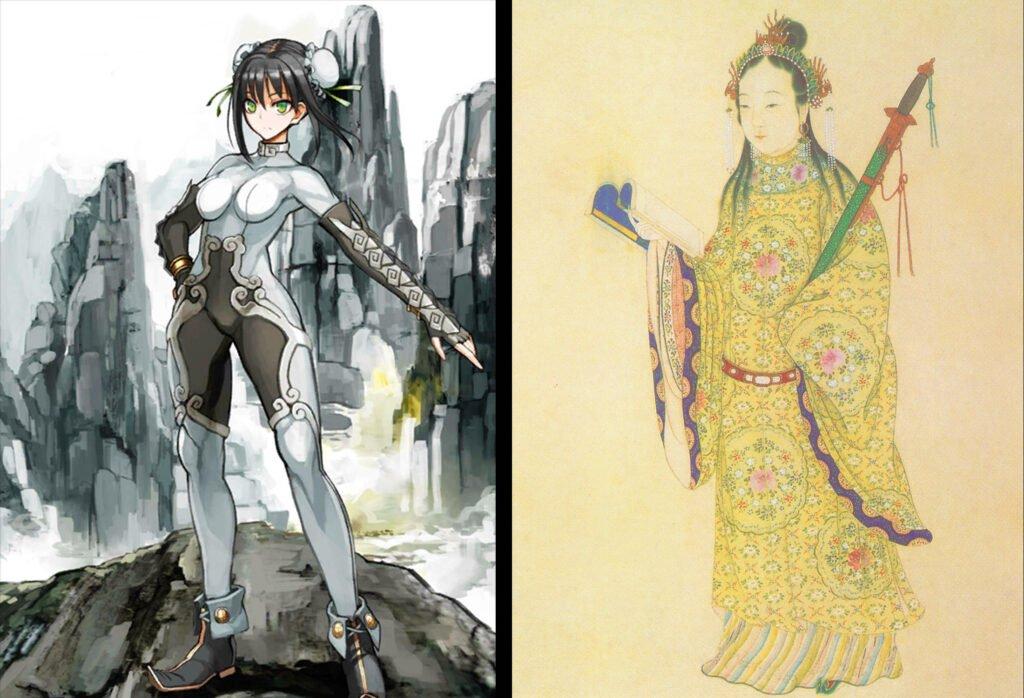Qin Liangyu - Fate/Grand Order Lancer Sınıfındakilerin Gerçek Hikayeleri - Figurex Ne? Nedir?