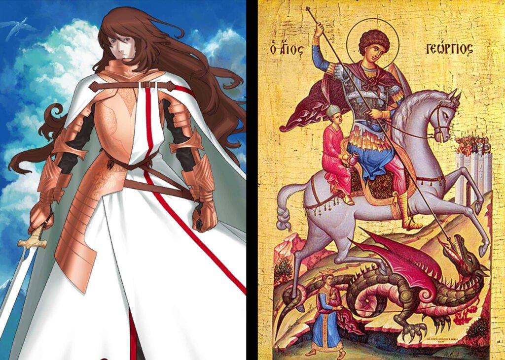 Saint Georgios - Fate/Grand Order Rider Sınıfındakilerin Gerçek Hikayeleri - Figurex Ne? Nedir?