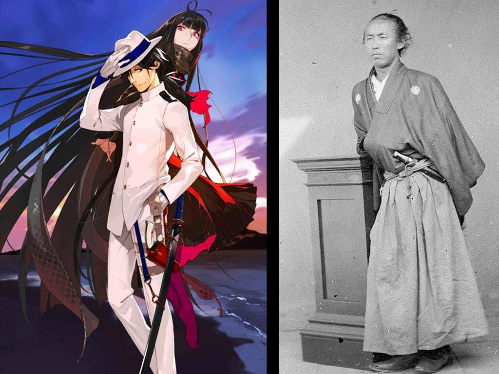 Sakamoto Ryoma - Fate/Grand Order Rider Sınıfındakilerin Gerçek Hikayeleri - Figurex Ne? Nedir?